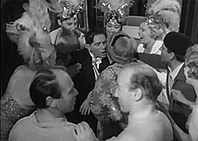 "Peter celebrates with the cast in ""Follow a Star"" (Rank)"